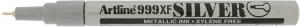 ARTLINE MARKER METALLIC 999XF 0.8MM SILVER