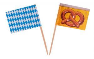OKTOBERFEST COCKTAIL FLAGGA 50-PACK
