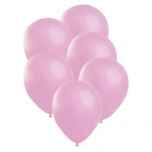 Latex ballonger 6-pack Satin Rosa
