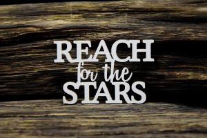 Reach For The Stars – Text - SnipArt