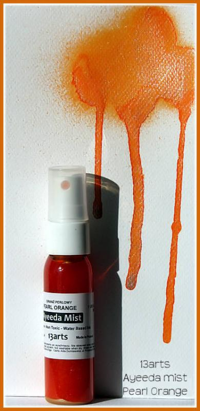 13 Arts Pearl Mist - ORANGE