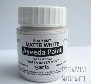 13 Arts Paint Matte WHITE