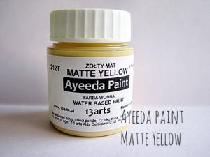 13 Arts Paint Matte YELLOW