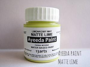 13 Arts Paint Matte LIME