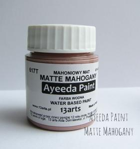 13 Arts Paint Matte MAHOGANY