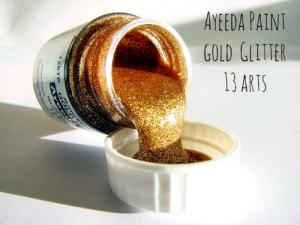 13 Arts Paint Glitter GOLD