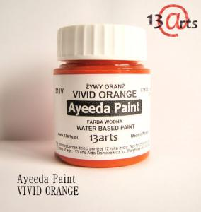 13 Arts Paint VIVID ORANGE