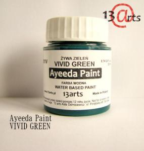 13 Arts Paint VIVID GREEN