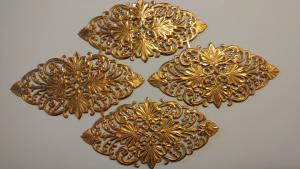 Fenstone Decorative GOLD Elements (4) - Altenew