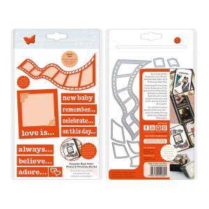 Keepsake Book Maker-Photo and Filmstrip Die Set - Tonic Studios