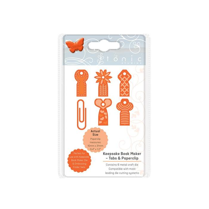 Keepsake Book Maker-Tabs and Paperclips - Tonic Studios