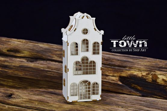 Little Town – Tenement House – 2 - SnipArt