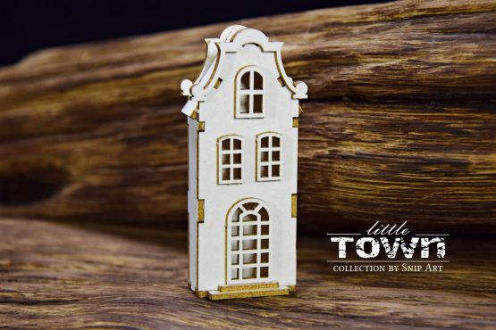 Little Town – Tenement House – 9 - SnipArt