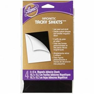 Magnetic Tacky Sheet (4) - Aleenes