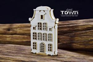 Little Town – Tenement House – 7 - SnipArt