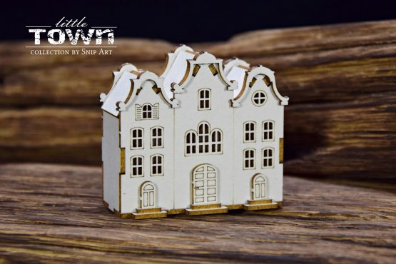 Little Town – Tenement House – 10 - SnipArt