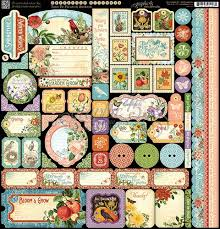 Time To Flourish Stickers - Graphic 45