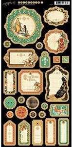 ENCHANTED FOREST - CHIPBOARD 1 - GRAPHIC45