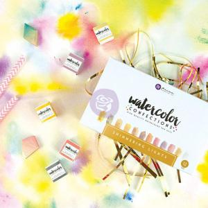 Watercolor Confections - SHIMMERING LIGHTS - Prima