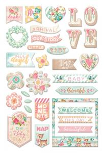 Heaven Sent PUFFY STICKERS - My Prima