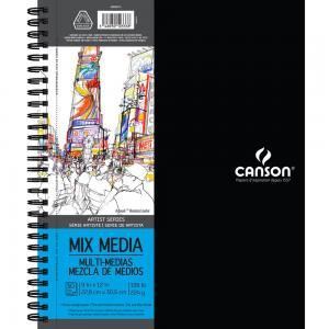 "Canson Mix Media Pad  9""X12"""