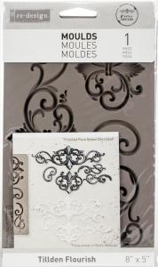 TILLDEN FLOURISH Re-Design Decor Mould - Prima