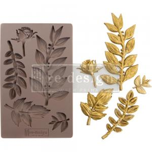 LEAFY BLOSSOMS Mould - Prima Marketing