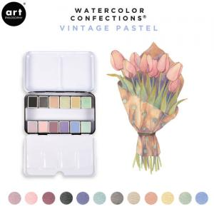 Watercolor Confections - VINTAGE PASTELS - Prima