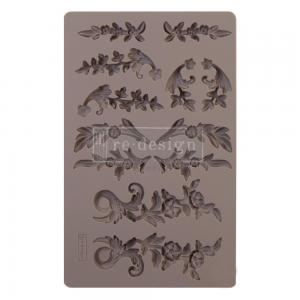 DELICATE FLORA Re-Design Decor Mould - Prima