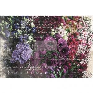 GISELLE Re-Design Decoupage Decor Tissue  - Prima Marketing