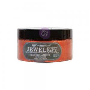 CRUSHED AMBER Finnabair Art Extravagance Jewel Texture Paste
