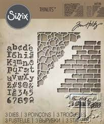 Sizzix Thinlits - Mixed Media #3 - Tim Holtz