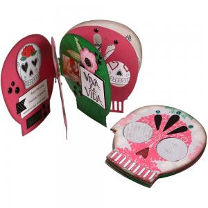 Day Of The Dead Sugar Skull Book - SIZZIX