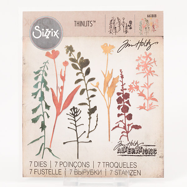 Sizzix Wildflowers #2