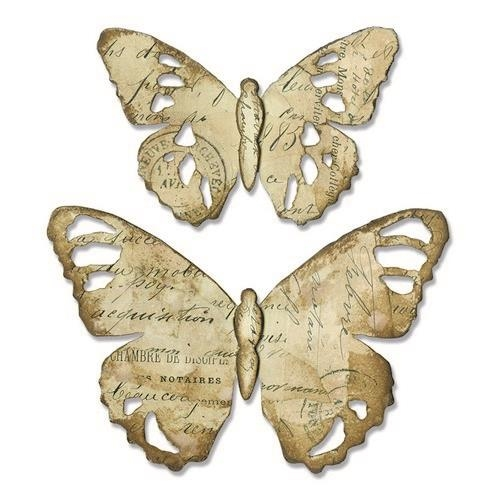 TATTERED BUTTERFLY by Tim Holtz - SIZZIX