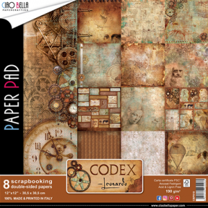 Codex Leonardo Collection  Paper Pad - Ciao Bella