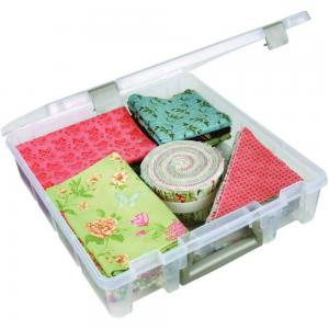 Art Bin Super Satchel Box 15x14 TRANSLUCENT