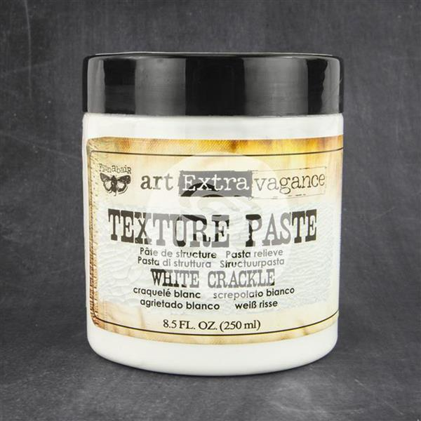 WHITE CRACKLE - Texture Paste - Finnabair