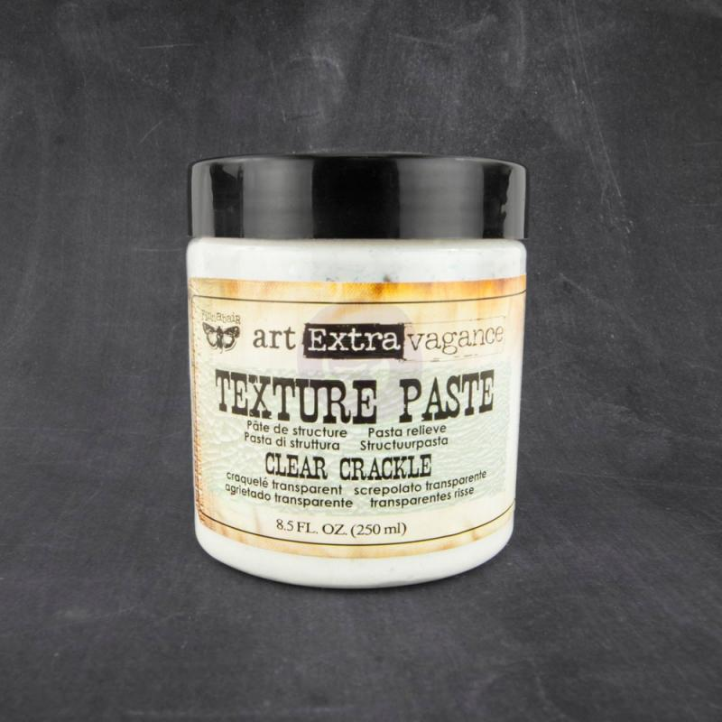 Texture Paste - Clear Crackle -  Art Extravagance Finnabair Prima