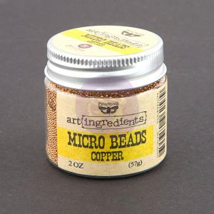 Micro Beads - COPPER - Finnabair Prima
