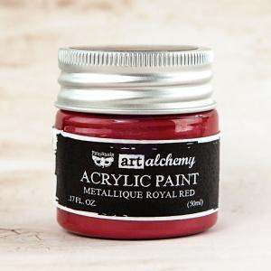 Royal Red-Art Alchemy-Acrylic Paint