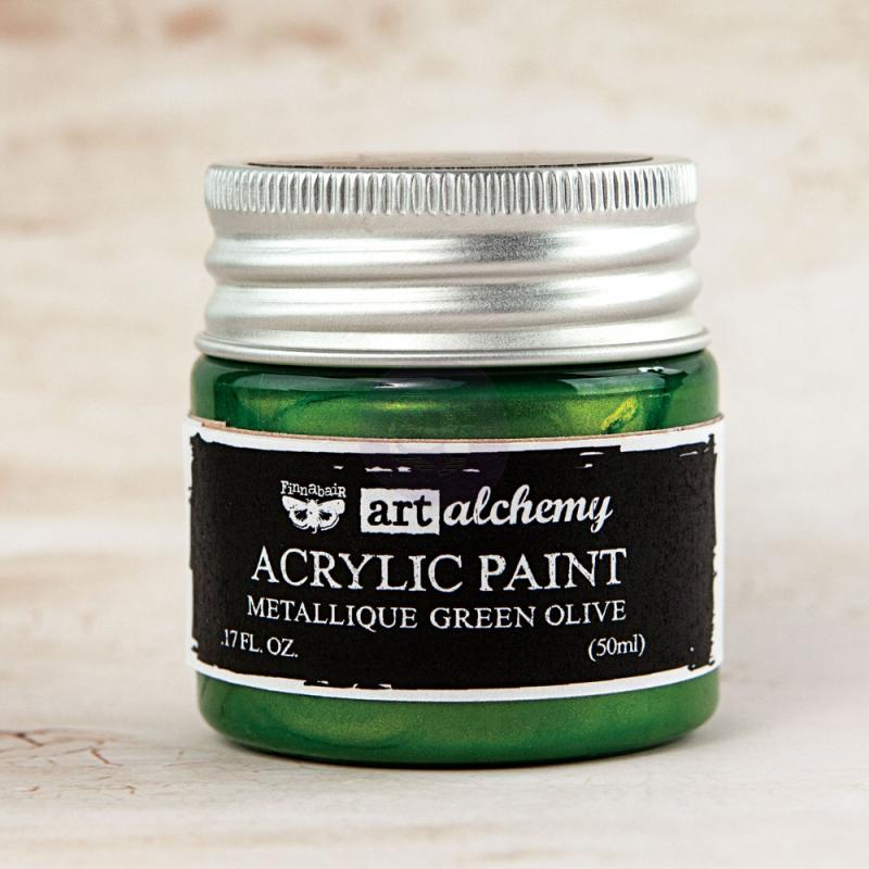 Green Olive-Art Alchemy-Acrylic Paint