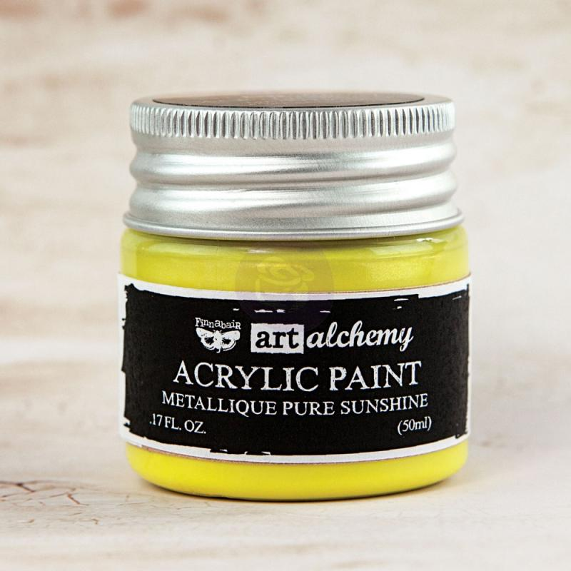 Pure Sunshine-Art Alchemy-Acrylic Paint