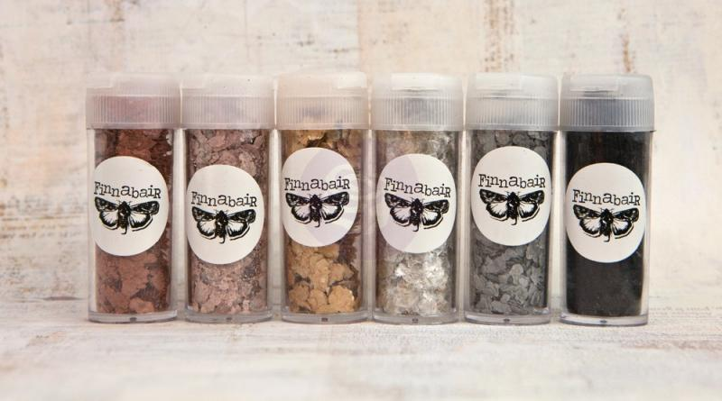 Art Ingredients: Mica Flakes Set of 6 - Finnabair