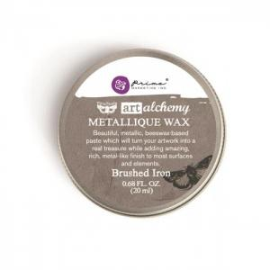 Metallique Wax BRUSHED IRON