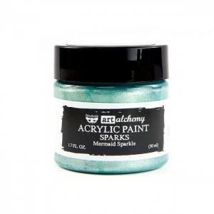 MERMAID SPARKLE Art Alchemy Sparks Akrylic Paint