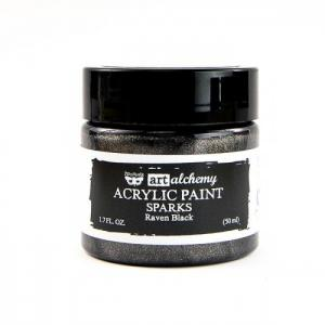 RAVEN BLACK Art Alchemy Sparks Akrylic Paint