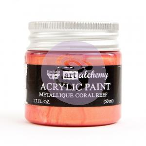 CORAL REEF Art Alchemy Metallique Paint - Finnabair