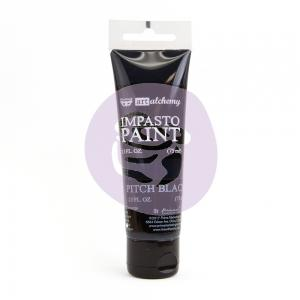 Impasto Paint PITCH BLACK - Finnabair