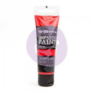 Impasto Paint POPPY RED - Finnabair